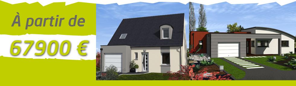 Achat maison sarthe constructeur de maisons 100 m2 moins for Achat maison neuve 72