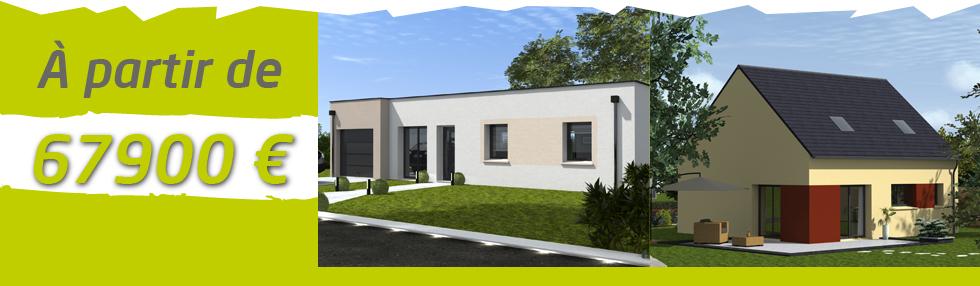 achat maison sarthe constructeur de maisons 100 m2 moins. Black Bedroom Furniture Sets. Home Design Ideas